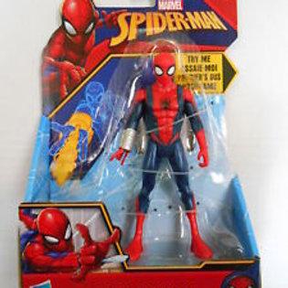 Hasbro 6 inch quick shot Spiderman figure