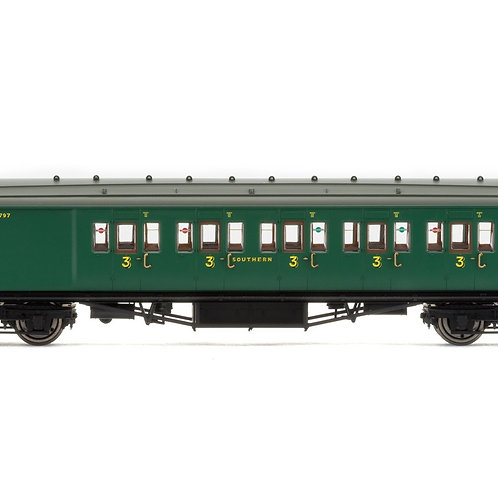 Hornby R4736 SR Maunsell 6 Compartment Brake 3rd Coach 3797