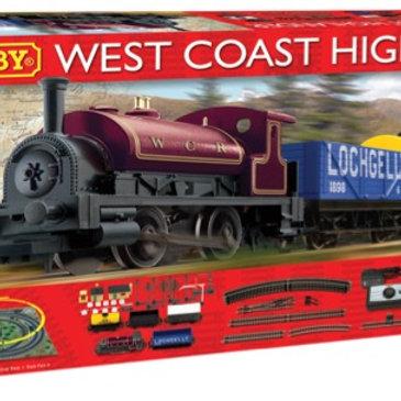Hornby R1157 West Coast Highlander Train Set