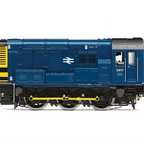 Hornby R3898TTS Class 08 3817 in BR blue - TTS Sound fitted