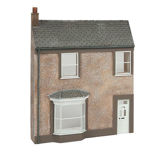 Scenecraft 44-0203 Low Relief Pebble Dash Terrace House