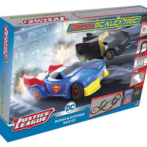 Micro Scalextric Justice League Set