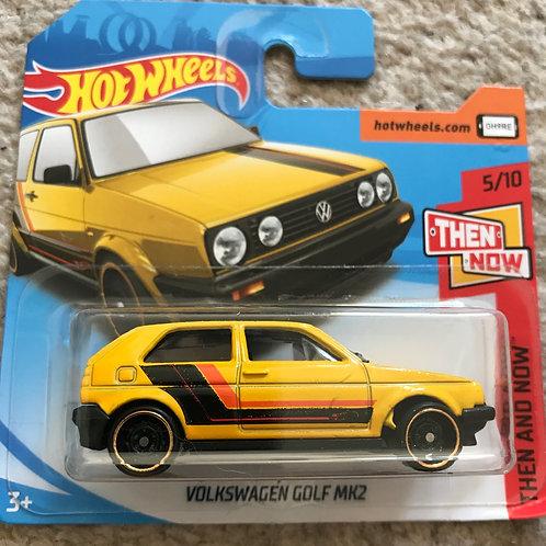 Hot Wheels Then and Now Volkswagen Golf Mk 2