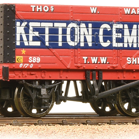 37-134B 8 Plank Ketton Cement 8 Plank Wagon