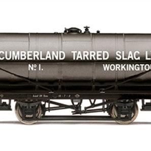 "Hornby R60034 20 ton tank wagon No.1 ""Cumberland Tarred Slag - Workington"""