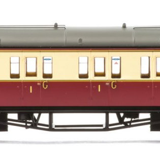 Hornby R4688A Collet Bow End Corridor Composite (Right Hand)