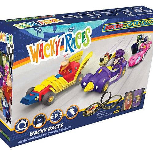 Scalextric G1142 Wacky Races Set