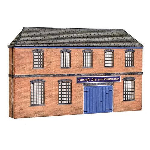 Scenecraft 44-0205 Low Relief Victorian Factory Front