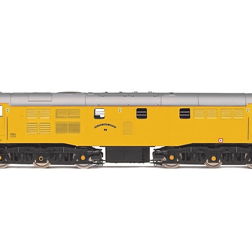 """Hornby R3745 Class 31/6 31602 """"Driver Dave Green"""" in Network Rail yellow"""