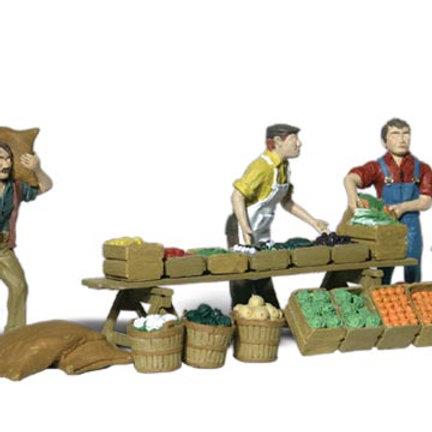 00 Gauge Figures Farmer Market