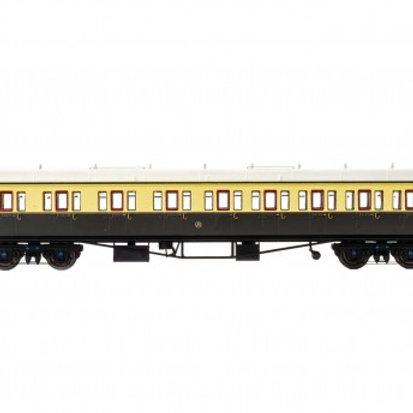 Hornby R4874A Collett 57' 'Bow ended' non-corridor composite (Left-hand) 6626