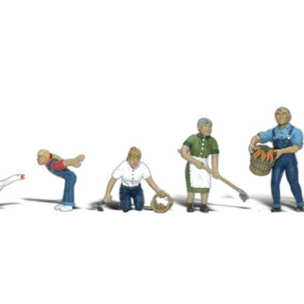 00 Gauge Figures Farm People
