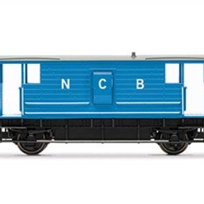Hornby R60039 ex-LMS 20 ton brake van in NCB blue - Due Sep-21