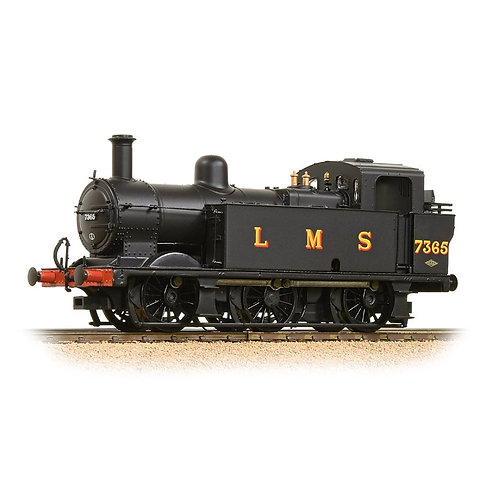 Bachmann 32-227DS Fowler Class 3F Jinty LMS Black with DCC Sound