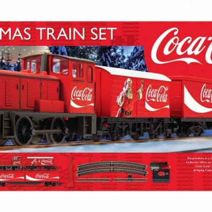 Hornby R1233 The Coca-Cola Christmas Train Set
