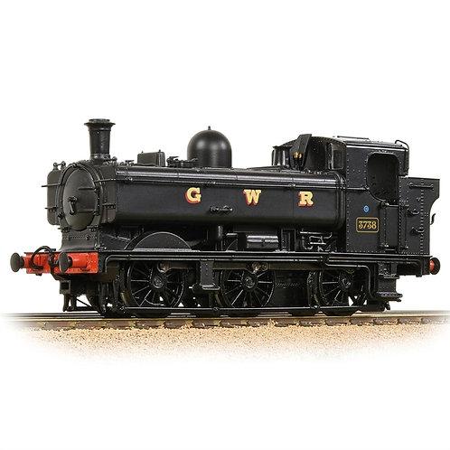 Bachmann 32-199 Class 8750 pannier 0-6-0PT 3738 in GWR black (preserved)