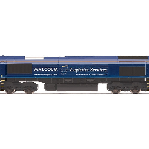 Hornby R3886 Class 66 66405 in DRS/Malcolm Logistics livery
