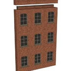 Bachmann Branchline 44-289 Low Relief Modular Mill Façade