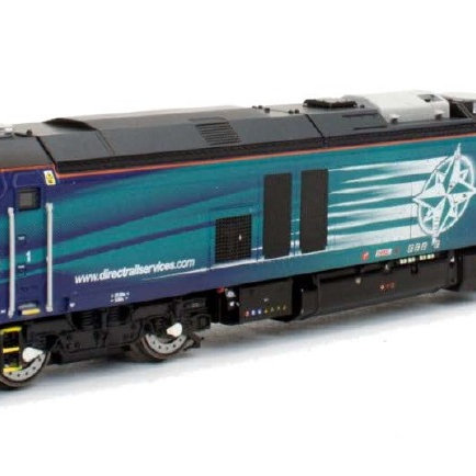 Dapol 2D-022-011 Class 68 68034 in Direct Rail Services blue