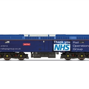"""Hornby R30042TTS Class 47 47813 """"Jack Frost"""" in Rail Operations Group / Thankyou"""