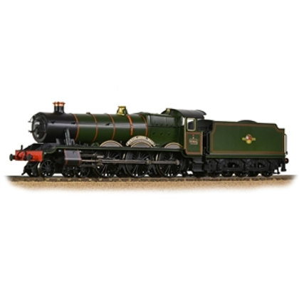 GWR 'Modified Hall' 6998 'Burton Agnes Hall' BR Lined Green (Late Crest)