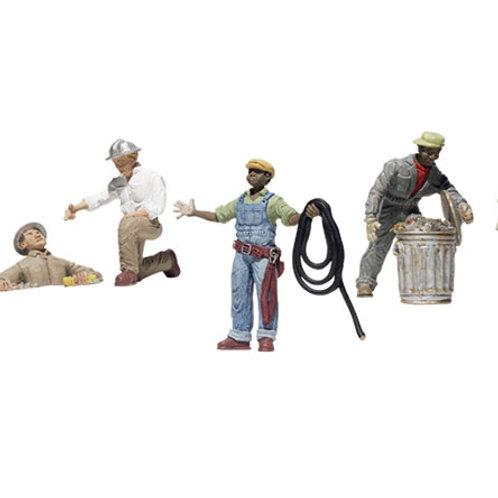00 Gauge Figures City Workers