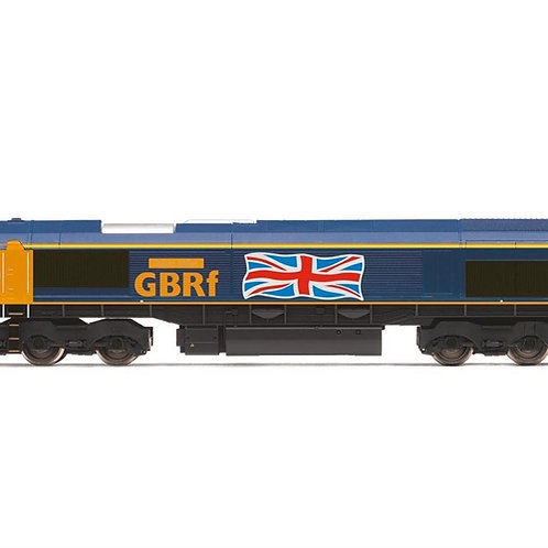 "Hornby R3784 Class 66 66705 ""Golden Jubilee"" in GBRf livery"