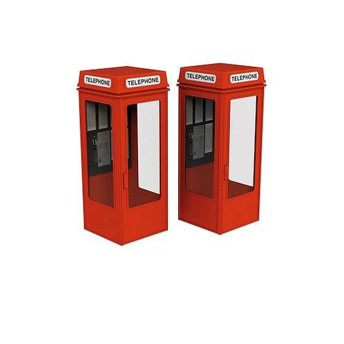 Scenecraft 44-0503 K8 Phone Boxes (x2)