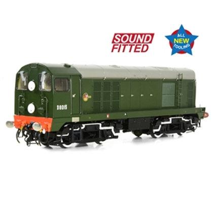 Class 20/0 Disc Headcode D8015 BR Green (Late Crest) SOUND
