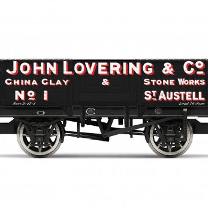 "Hornby R6869 5-plank open wagon ""John Lovering and Co"""