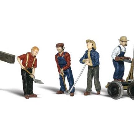 00 Gauge Figures Rail Workers