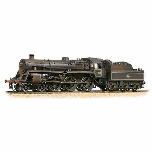 Bachmann 31-119 BR Standard 4 75035 BR lined black late crest (Weathered)