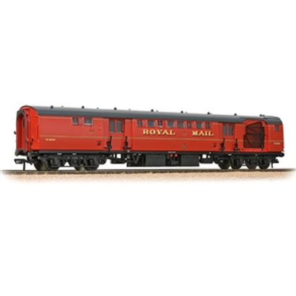 Bachmann 39-421B BR Mk1 POS Post Office Sorting Van Post Office Red (with Net)