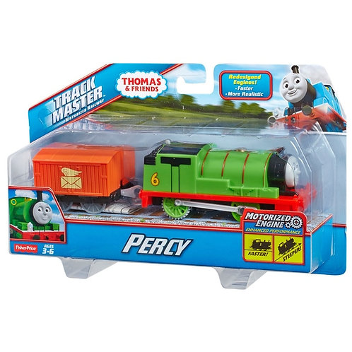 Trackmaster motorised Percy with truck,