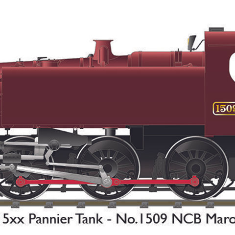 BR 15xx – No.1509 NCB Maroon (Sound Fitted)