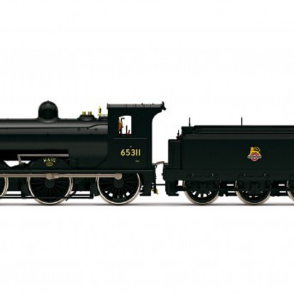 """Hornby R3622 Class J36 0-6-0 65311 """"Haig"""" in BR black with early crest"""