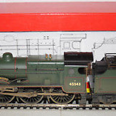 """R2456 Patriot Class 45543 """"Home Guard' Weathered"""