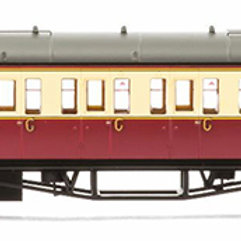 Hornby R4684A Collet Bow End Coach