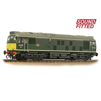 Class 24/1 D5149 BR Green (Small Yellow Panels) (Sound Fitted)