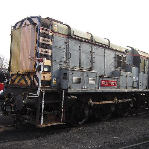 Gaugemaster GM7210204 Class 09 012 Dick Hardy Engineers Grey