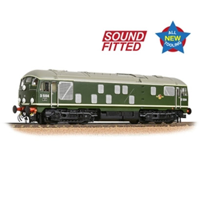 Class 24/1 D5094 Disc Headcode BR Green (Late Crest) Sound Fitted