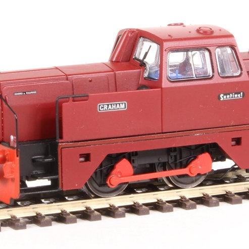"R5377 Sentinel 0-4-0 Oxfordshire Ironstone Company ""Graham"""