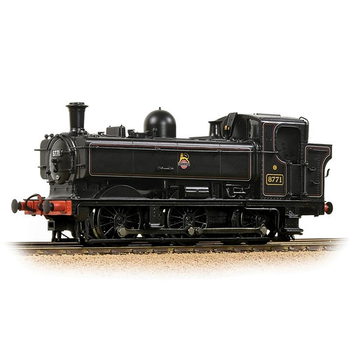 Bachmann 32-205A Class 8750 pannier 0-6-0PT 8771 in BR lined black (early crest)