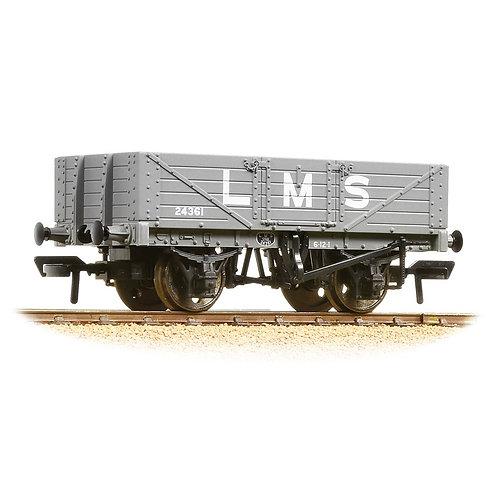 Bachmann Branchline 37-070 5 plank wagon 24361 in LMS grey