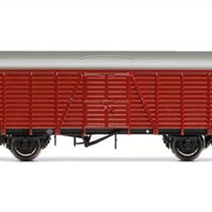 Hornby R6641B BR 4 Wheel CCT Van M37241M in crimson - Due Jan-21