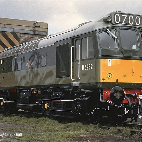 Bachmann Branchline 32-341 Class 25/2 D5282 in BR green with small yellow panels