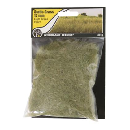 Woodland Scenics FS627 12mm Static Grass Light Green