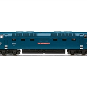 "Hornby R30049TTS Class 55 'Deltic' 55013 ""The Black Watch"" in BR blue TTS Sound"