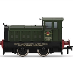 ornby R3896 Ruston 88DS 4wDM diesel shunter Departmental No.84 in BR green