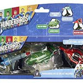 Vivid Imaginations Thunderbirds Are Go Diecast Vehicles Multipack